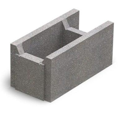 Блок несъемной опалубки бетонный (510х250х235) Золотой Мандарин