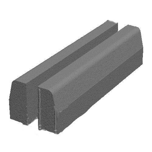 Борт дорожный бетонный малый 1000х250х120 Золотой Мандарин