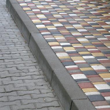 Борт дорожный бетонный прямой 1000х150x300 Золотой Мандарин