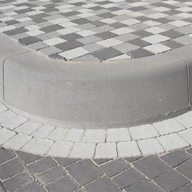 Борт дорожный радиус