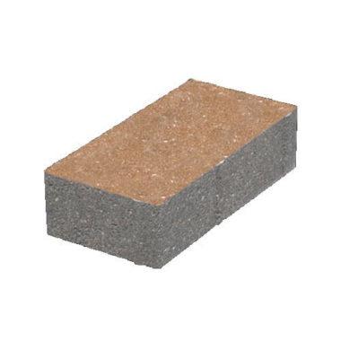 Кирпич 200х100x40 тротуарная плитка Золотой Мандарин