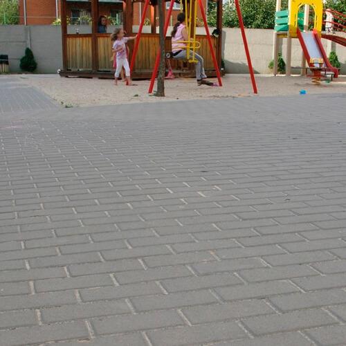 Кирпич 200х100x80 тротуарная плитка Золотой Мандарин