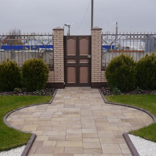 Модерн М 60мм тротуарная плитка Золотой Мандарин