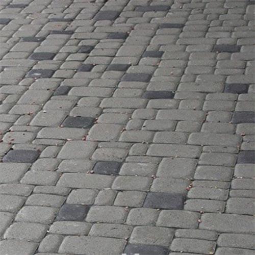 Старый город 40 мм серая тротуарная плитка Золотой Мандарин