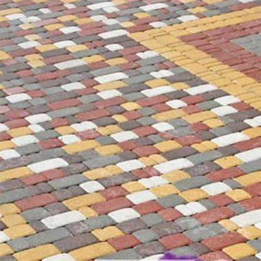 Старый город 60 мм красная тротуарная плитка Золотой Мандарин