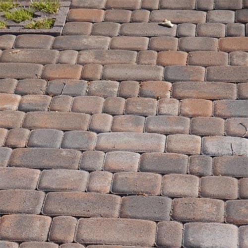 Старый город 60 мм коричневая тротуарная плитка Золотой Мандарин