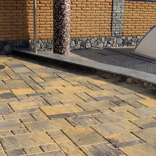 Пассион 60мм тротуарная плитка Золотой Мандарин