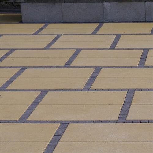 Неолит 60мм тротуарная плитка Золотой Мандарин