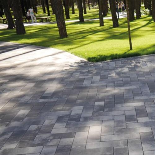 Паркет 60 мм тротуарна плитка Золотий Мандарин