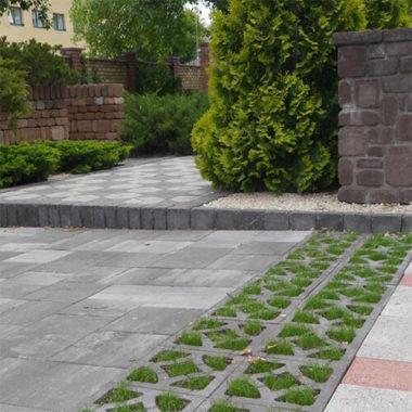 Решетка Гармония тротуарная плитка Золотой Мандарин