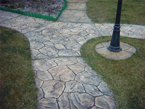 Тротуарные садовые дорожки затирка швов