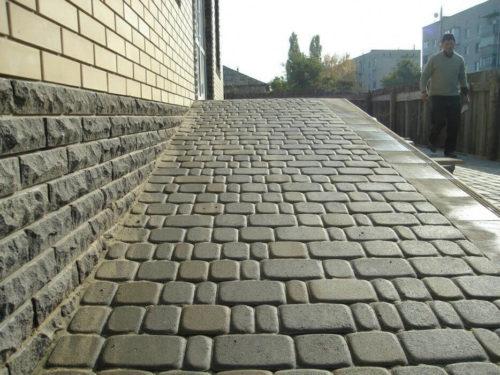 Фото укладки тротуарной плитки