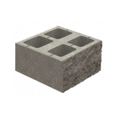 Блок декоративный бетонный (400х400х150) для колонны Золотой Мандарин