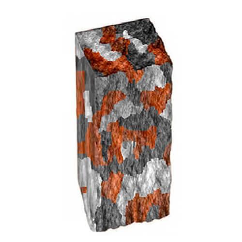 Столбик декоративный серый 250х100х80 Золотой Мандарин