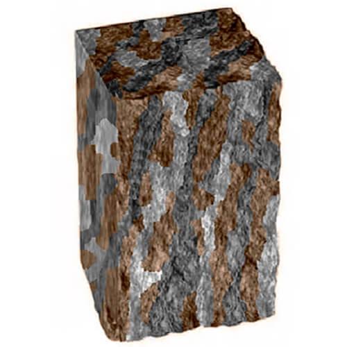 Столбик декоративный нуоро 300х175х150 Золотой Мандарин