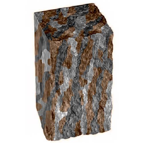 Столбик декоративный нуоро 350х175х150 Золотой Мандарин