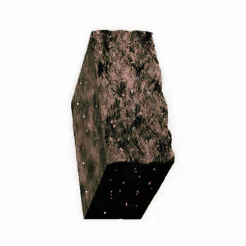 Столбик декоративный болонья с мрамором 500х175х150 Золотой Мандарин