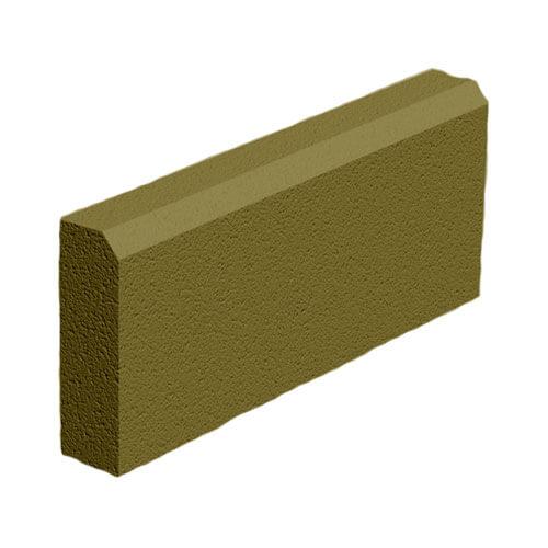 Поребрик горчичный 500х200х60 мм Золотой Мандарин