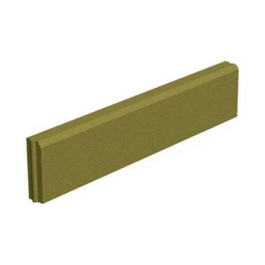 Поребрик горчичный 1000х200х60 мм Золотой Мандарин