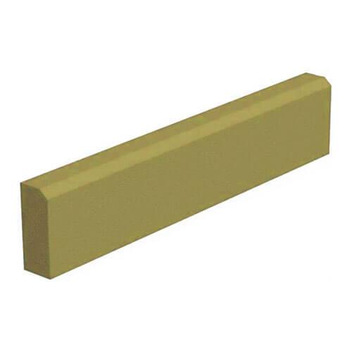 Поребрик персиковый 1000х200х80 мм Золотой Мандарин