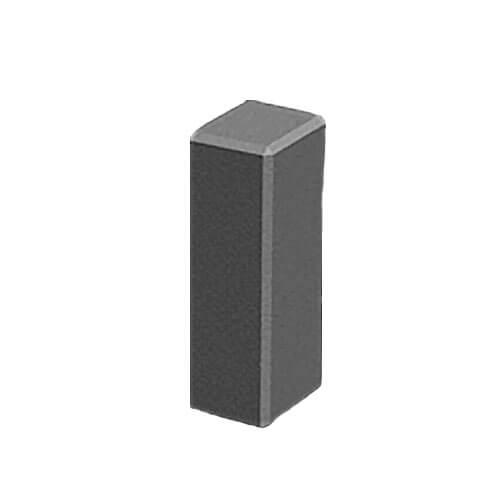 Поребрик фигурный квадратный серый 500х80 мм Золотой Мандарин