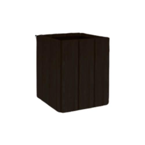 Цветочница Кантри квадратная (530х530х600) нуаро форес