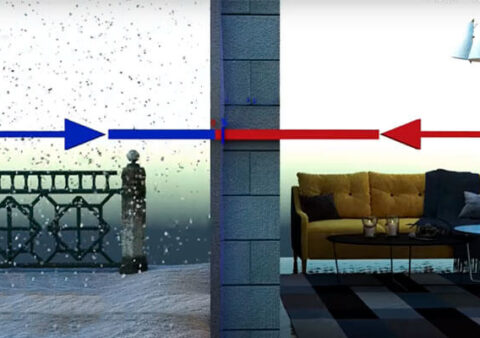 Як утеплити будинок з бетонних блоків?